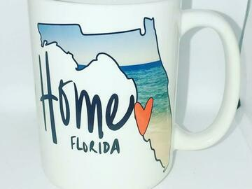 Selling with online payment: Florida Home Mug