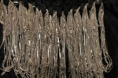 Liquidation/Wholesale Lot: 144 Piece Chain Assortment  Sterling Silver overlay Jewelry Roll