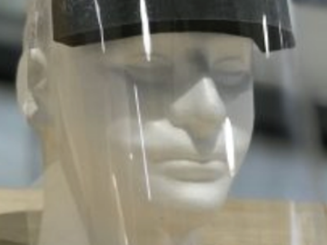 Giving away your product to verified requesters: Solo Products Plastic Face Shields