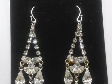 Buy Now: 100 Pair New Rhinestone High Quality Crystal Earrings