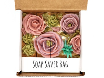 Selling with online payment: Spring Blossom 4-Pack Soap Gift Set