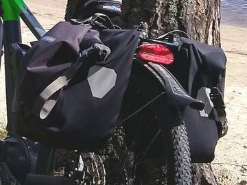 Hyr ut (per day): Pyörän sivulaukut vedenpitävät Ortlieb 20 litraa x2
