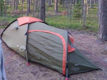 Til leie (per uke): Teltta 1.5h Halti DL-hiker