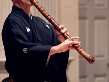 Live On-line Workshop: Learn to Play the Shakuhachi