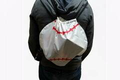Buy Now: 100 - Baseball Vinyl Drawstring Cinch Backpack – Minor Blemishes