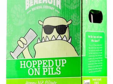 Selling with online payment: Behemoth Hopped Up On Pils Pilsner (6 pack)