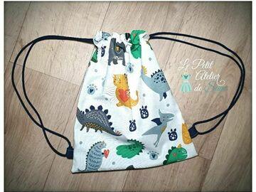 Vente au détail: Sac à dos pour enfant motifs dinosaures