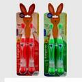 Buy Now: 30 pieces -Asst LED Kangaroo Toothbrush Twin pack With Toothpaste