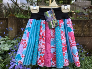 Selling with online payment: Twirly Skirt - The Tutu Alternative ~ Retro Pink and Aqua
