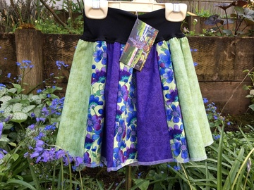 Selling with online payment: Twirly Skirt - The Tutu Alternative ~ Green and Purple Garden