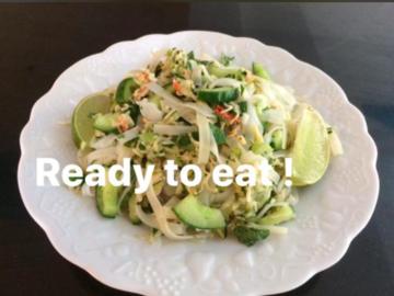 Partage: Crab Noodle Salad