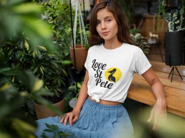 Selling with online payment: Love St Pete T-Shirt