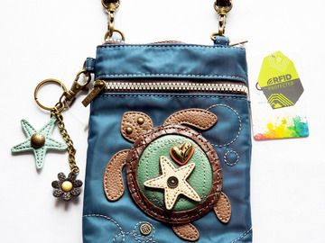 Selling with online payment: Sea Turtle Cell Phone Crossbody Bag