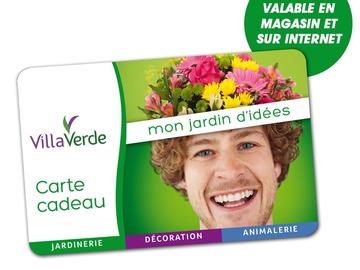 Vente: Carte cadeau VillaVerde (30€)
