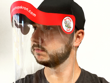 Sell your product: Cap Face Shield - Essential Worker
