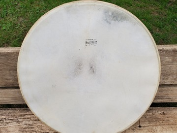 """Selling with online payment: Radio King 22"""" calf skin drum head"""