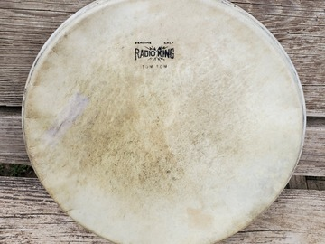 """Selling with online payment: GRadio King 13"""" calf skin tom head"""