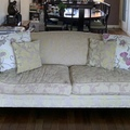 Giving away: Patterned Sofa