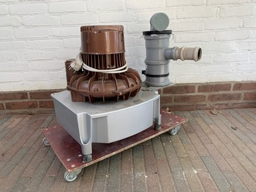 Artikel aangeboden: Durr V600 Afzuigmotor geschikt voor drie kamers