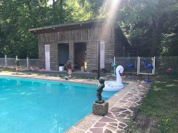 NOS JARDINS A LOUER: Parc 1ha avec piscine ou jardin coopératif