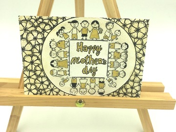 ": ""Happy Mother's Day"" - Card"