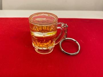 Liquidation/Wholesale Lot: 170 pcs Beer Mug Keychains w/liquid inside  $ .58 pcs