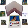 Buy Now: 11,520 Pieces – Topps MLB Baseball Legends Dual Pocket Folders