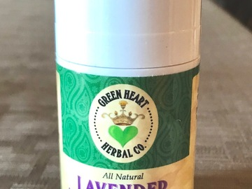Selling with online payment: Arnica Muscle Rub Stick - Lavender