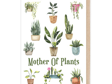 : Mother of Plants Card