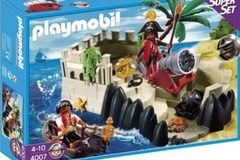 Selling without online payment: Playmobil Super Set: Pirate Cove 4007 + Pirate Gang 5136 + 2.....