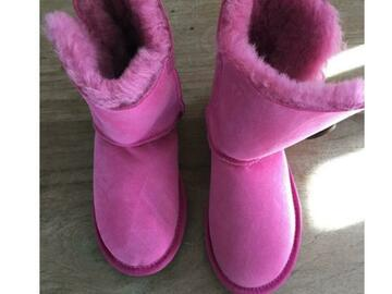 Selling without online payment: Pink Girl UGGs [Original]