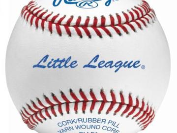 Buy Now: (204) Rawlings Little League Practice Baseballs Model #S12LL