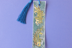 Selling with online payment: Hand Printed Copper Etching Bookmarks