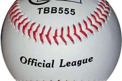 "Buy Now: (216) TAG 9"" Vinyl Soft Rubber Center Baseballs Model #TBB555-W"