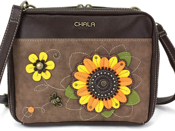 Selling with online payment: Sunflower/Paw/Sea Turtles (multi pics) Companion Organizer Xbody