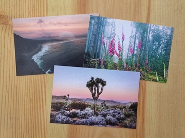Selling with online payment: West Coast 3 Set - Postcards