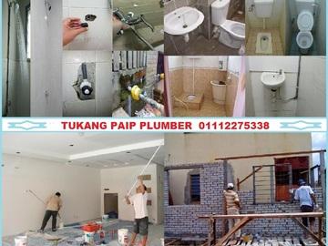 Services: tukang paip plumber 01112275338 taman setapak indah