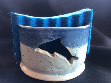 Selling with online payment: Pottery Sponge Holder