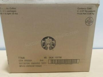 Buy Now: (4) 5lb. Bags of Starbucks Coffee Beans