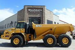 Renting out equipment (w/ operator): BELL B35D