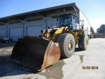 Renting out equipment (w/ operator): CATERPILLAR 980M