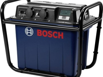 Renting out equipment (w/o operator): Bosch power generator