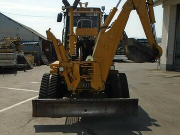 Renting out equipment (w/ operator): VERMEER RTX1250