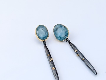 Selling: Aquamarine Sola Dangles