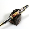 Selling with online payment: Coral Explosion – Sierra Twist Ballpoint Pen - Gold & Black Ti