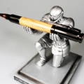Selling with online payment: Whiskey Barrel Bolt Action Bullet Pen, Jack Daniels Bourbon