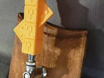 Selling with online payment: Custom 3D Printed Tap handle Design