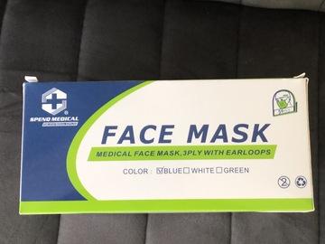 Gebruikte apparatuur: Type II 3 laags mondmaskers goedgekeurd en CE keurmerk