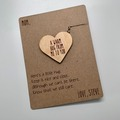 Selling with online payment: Social Distancing Greeting card and Keychain Combo