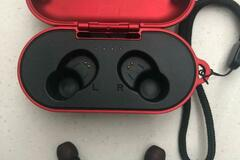 Selling without online payment: Unity Waterproof Bluetooth Earbuds with Wireless Charging Cradle